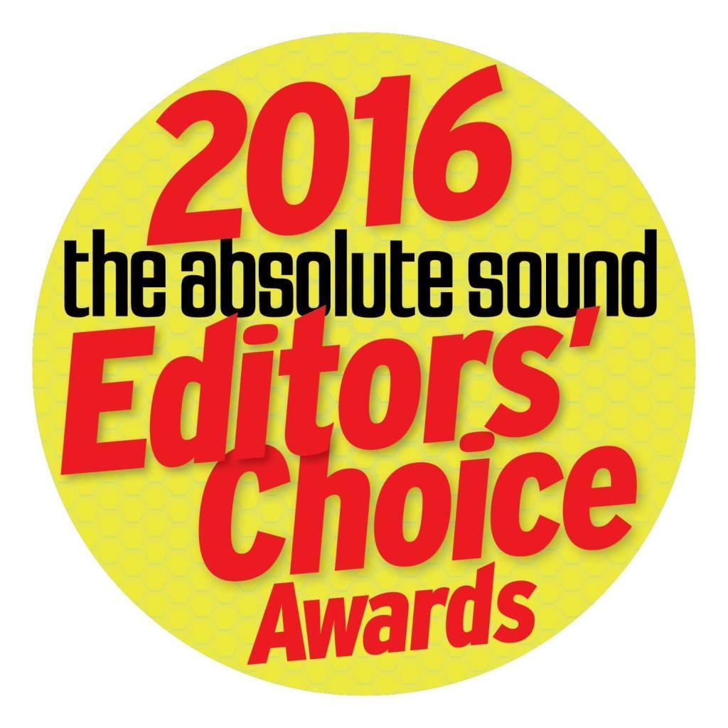 2016 absolute sound editors' choice award for LDR3.V2