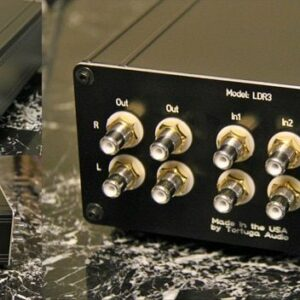 LDR3 Passive Preamp - Front, side and rear views