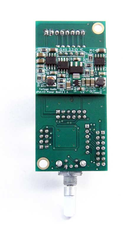 ePot.V3 Mini bottom view | power supply board