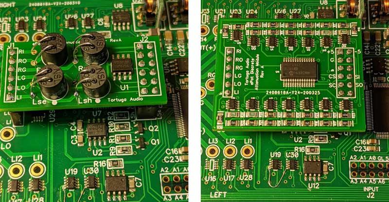 ePot.V3 stepped attenuator plug-in attenuation boards