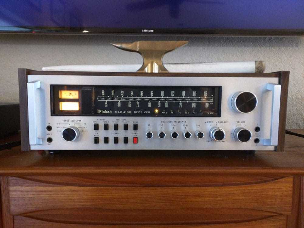 McIntosh Mac 4100 integrated amplifier